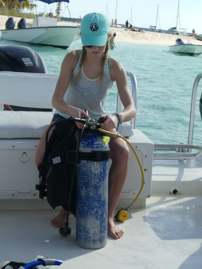 My first day diving!